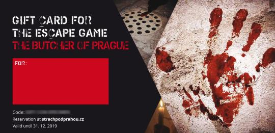 The Butcher of Prague Gift Card